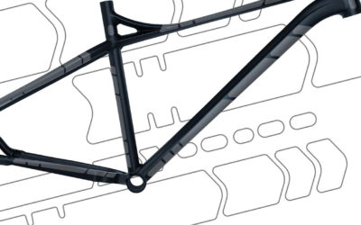 Protect your bike frame with FLECTR GRAVEL GUARD